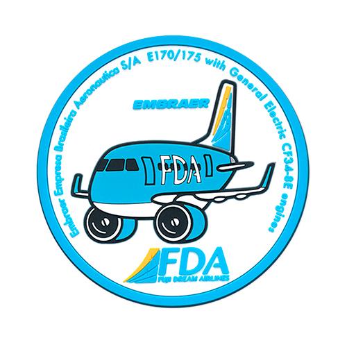 FDAオリジナルラバーコースター(セットB)