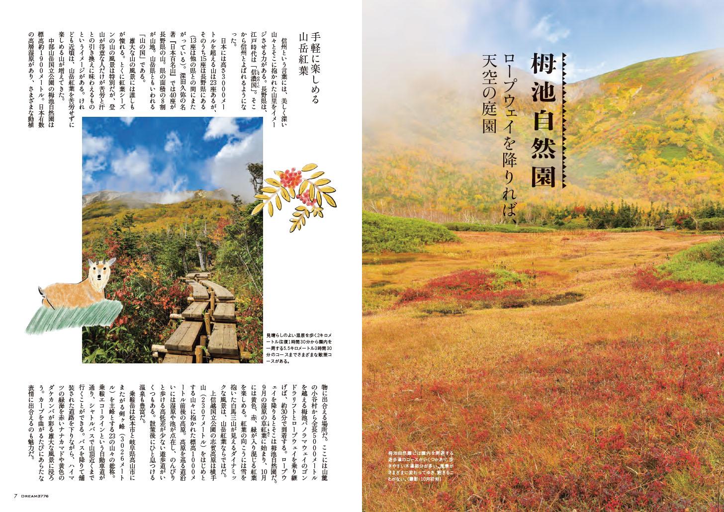 機内誌『DREAM3776』No.030(2020年秋号)