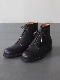 forme / 7 hole boots  Waxed fresh Mid black