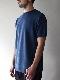 FUJITO /  Knit T-Shirt   Blue