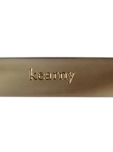 """kearny / round """"green sasa""""  (clear)"""