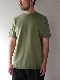 FUJITO /  Knit T-Shirt   Ever Green
