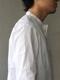 Handwerker ASEEDONCLOUD / HW collarless shirt / ホワイト