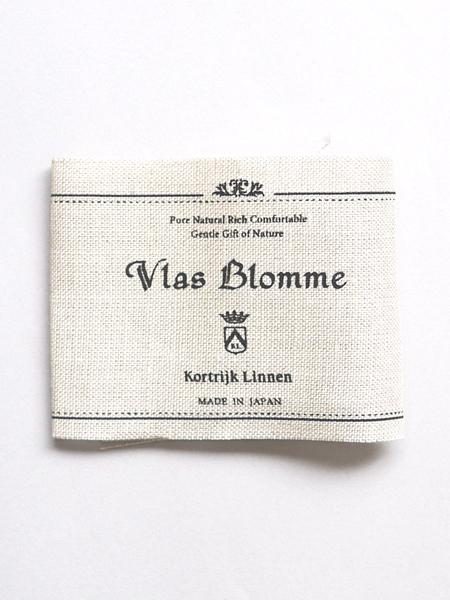 """Vlas Blomme /  Linenパイルソックス ショート """"D.CHARCOAL"""""""