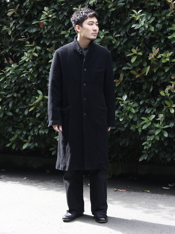 "OUTIL / MANTEAU TENCE ""black"""