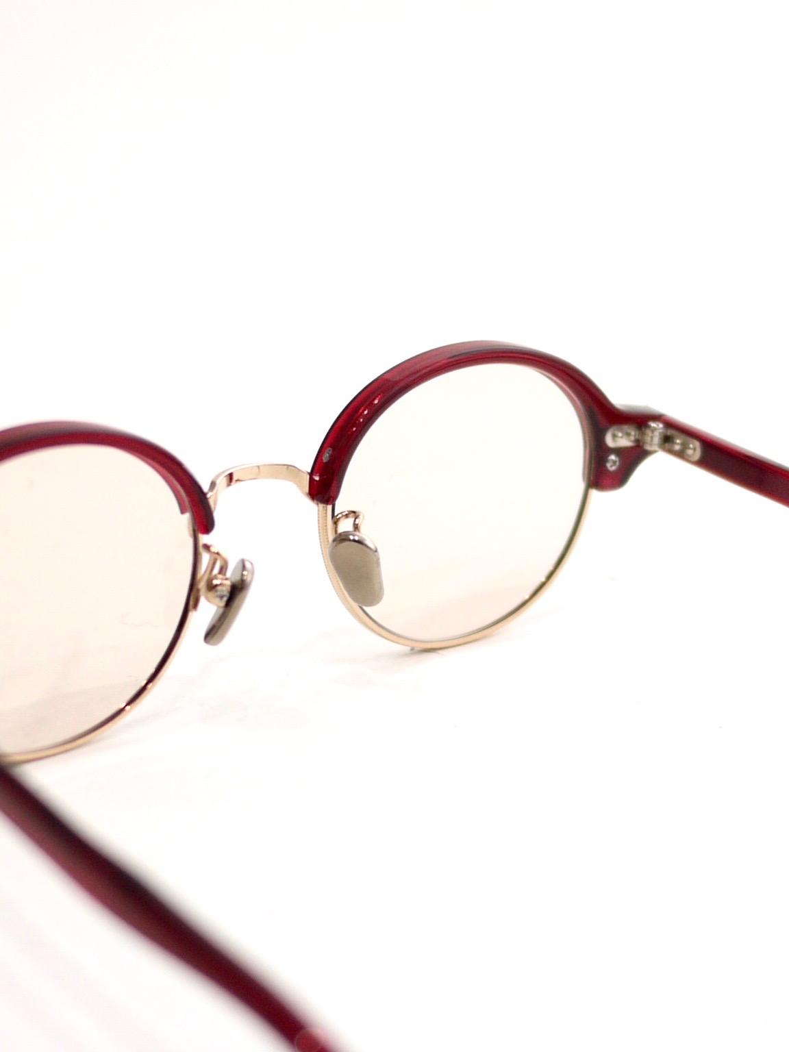 kearny / nupuri / Burgundy (brown lens)