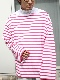 """OUTIL / TRICOT AAST """"WHITE/PINK"""""""