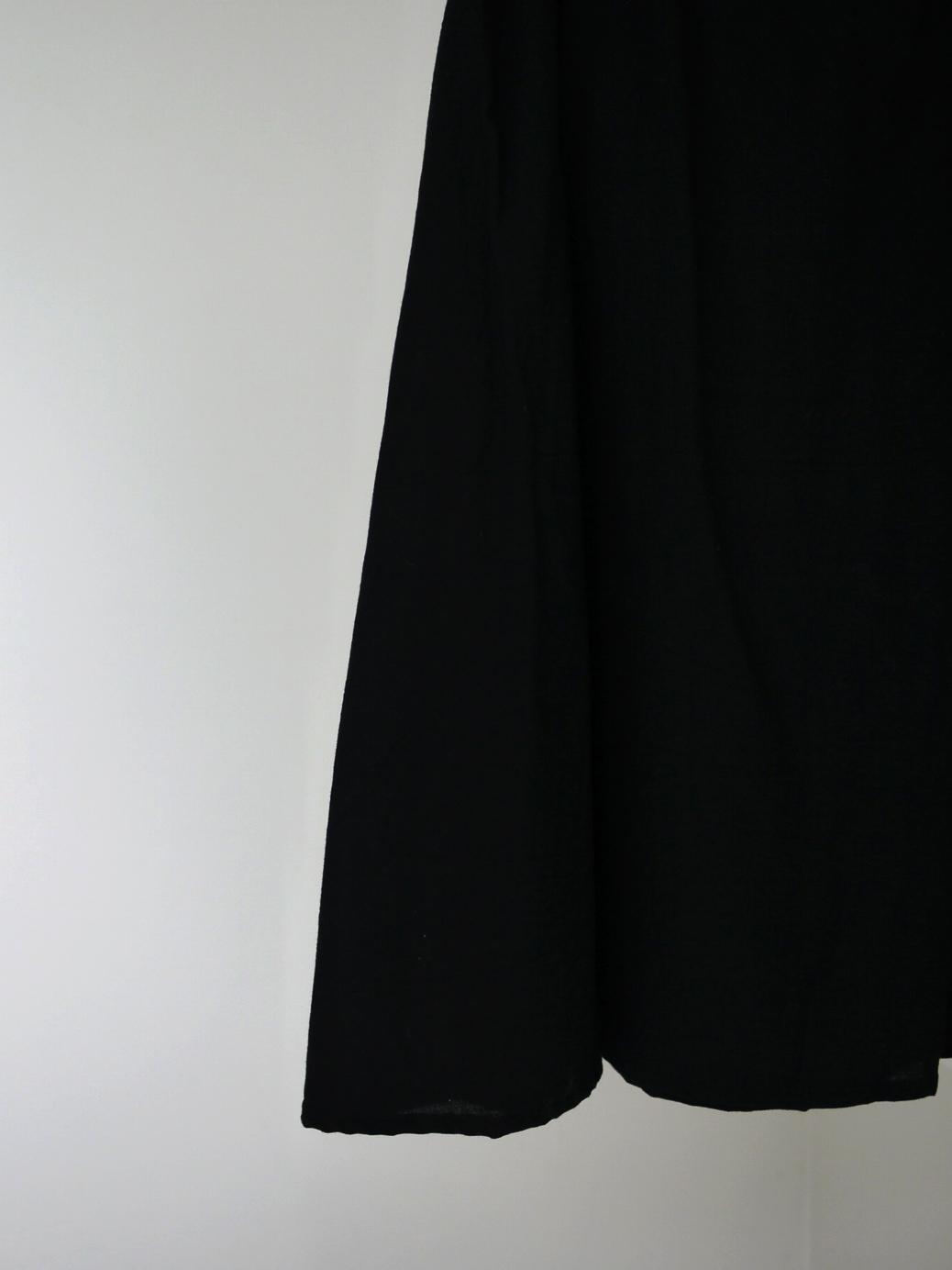 """Vlas Blomme / レイヤードスカート """"BLACK"""""""