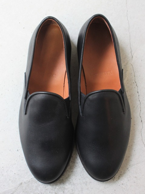 Y.M.walts / leather slip-on shoes