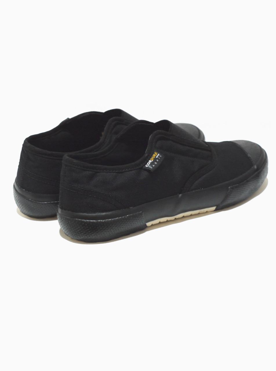 REPRODUCTION OF FOUND / ITALIAN MILITARY TRAINER BLACK