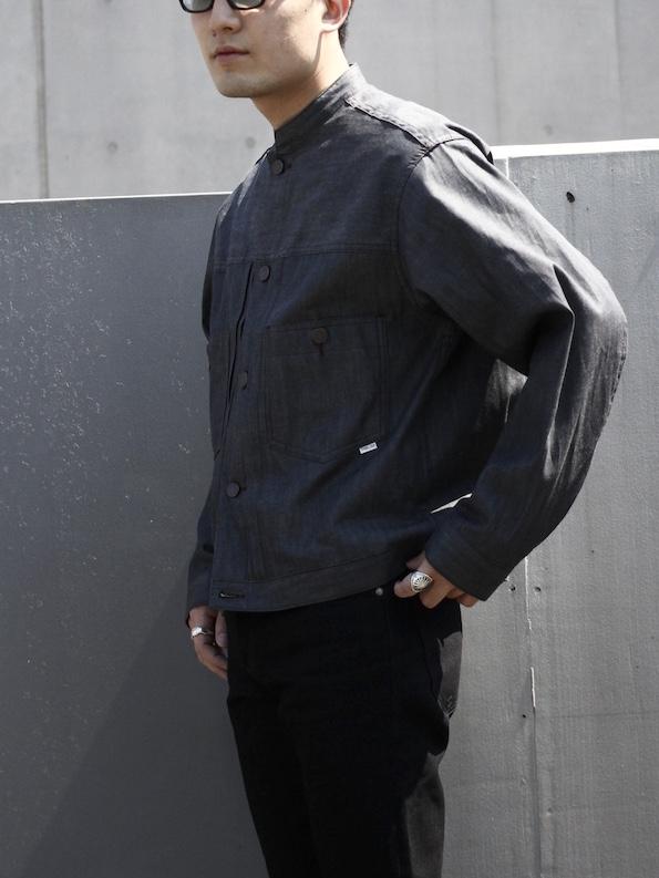 """STABILIZER GNZ / stand collar Jacket 8-22 """"GREY"""""""