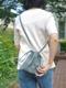 "formuniform / drawstring bag + strap  XS ""seafoam"""