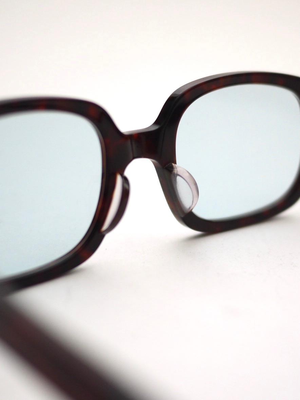"kearny / ella ""chocolate demi""  (blue green lens)"