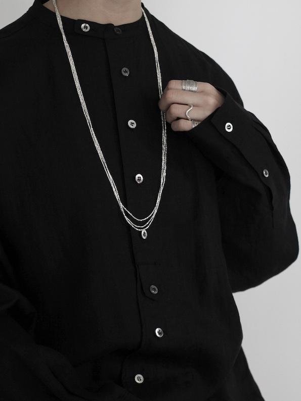 "karen silver accessory ""necklace"""