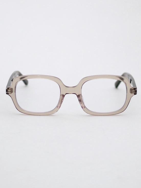 "kearny / ella ""light brown × brown""  ( clear lens)"