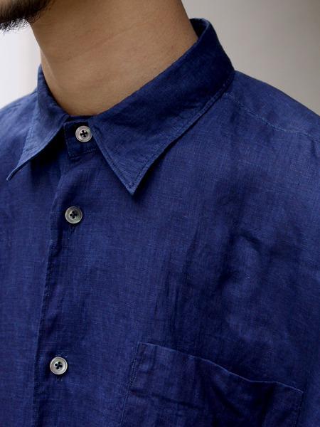FUJITO /  ビッグシルエットシャツ Indigo