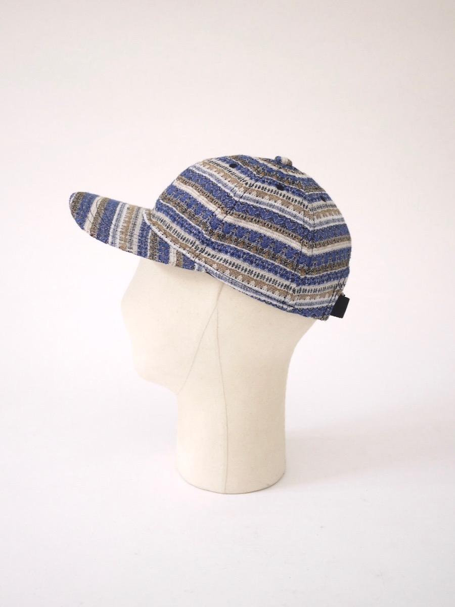 stanyan / baseball cap : Multi stripes
