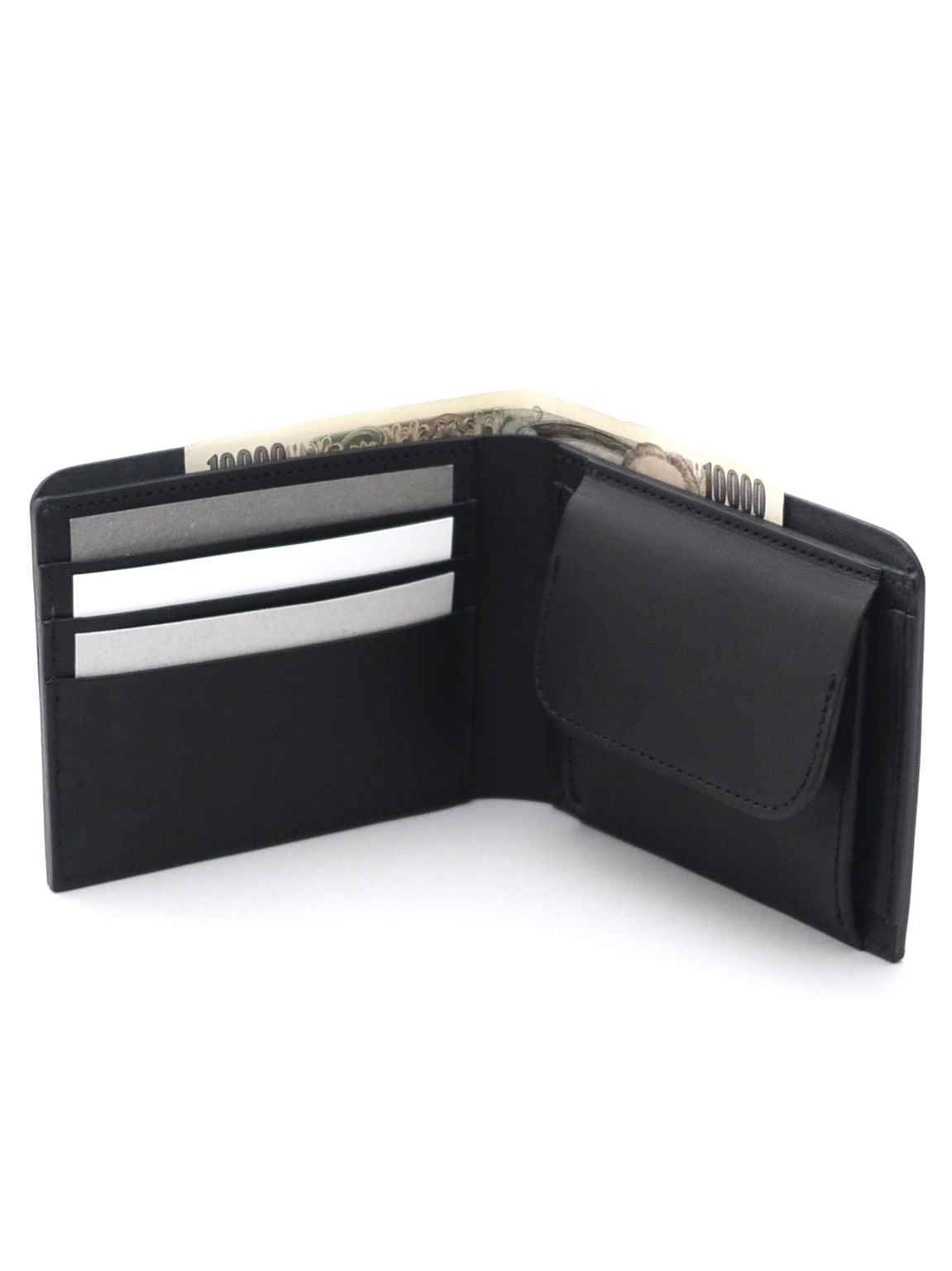 REEL / Half Wallet Black (HW-03)
