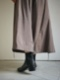 """Y.M.walts / Side gore boots """"BLACK"""""""