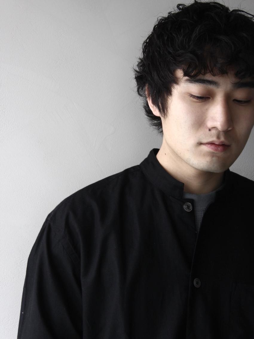 FUJITO /  シャツコート Black