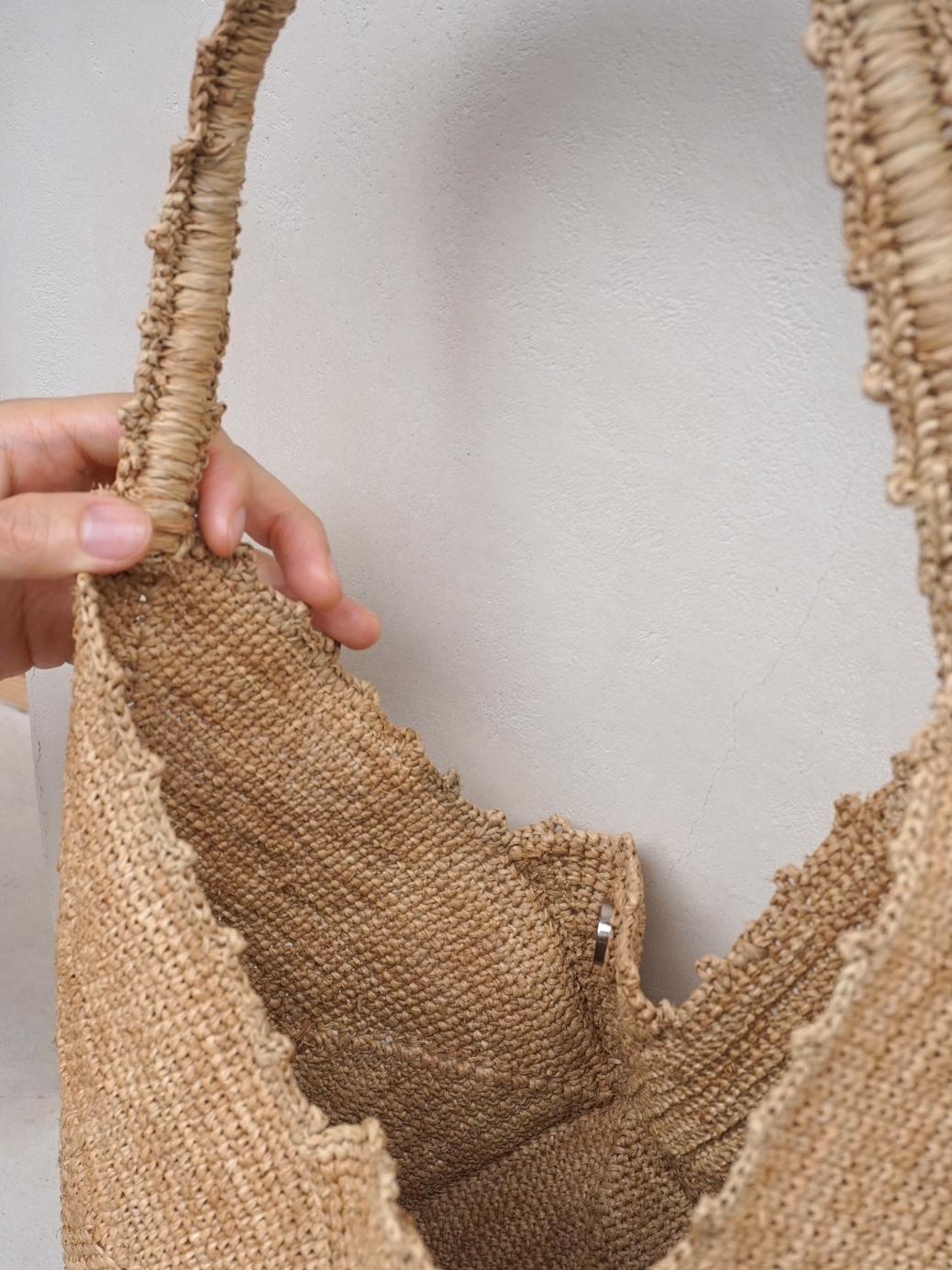 "Raffia Bag / Shoulder ""natural"""