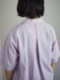 """hatsutoki / オープンカラーシャツ """"ラベンダー"""""""