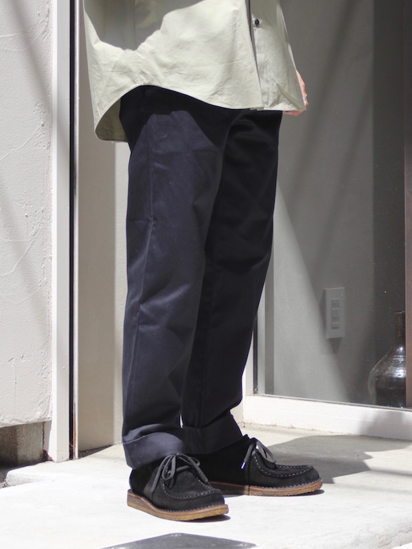 FUJITO / ワイドスラックス Navy