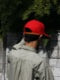 Riprap / SEMI   LONG BRIM CAP RED