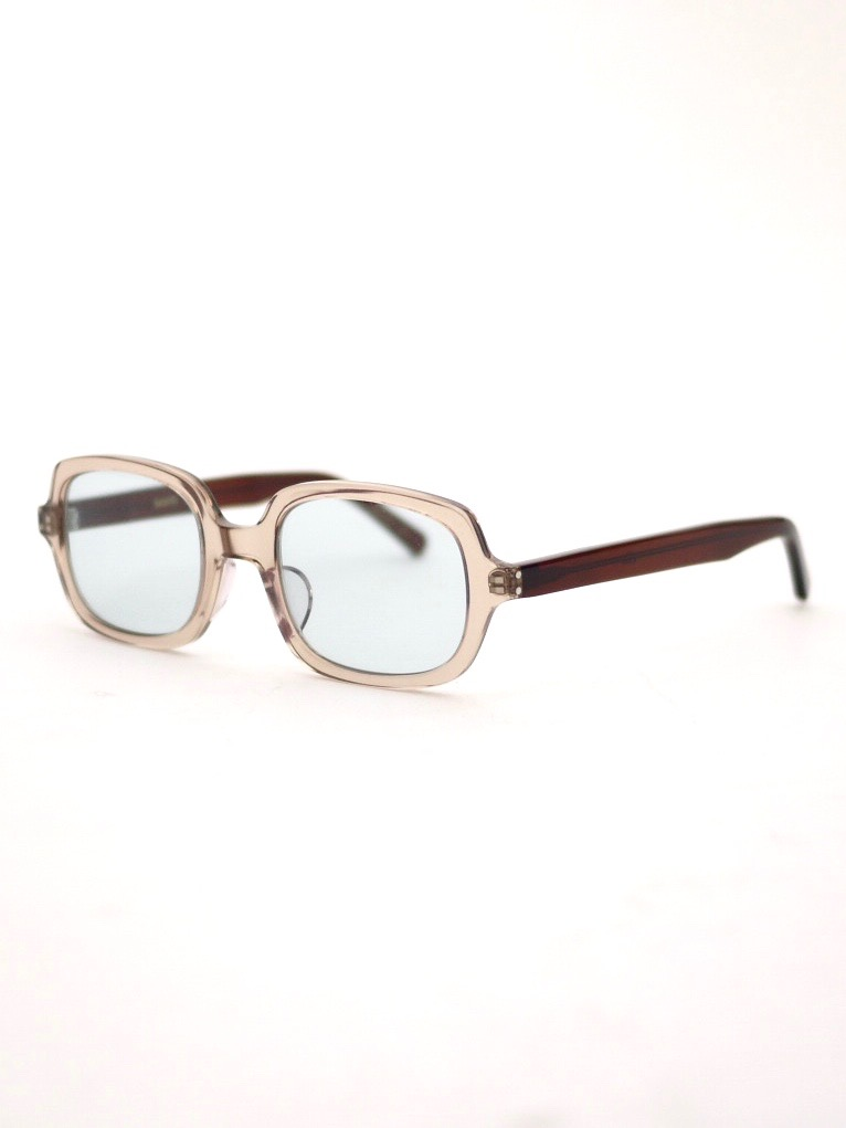 "kearny / ella ""light brown × brown""  ( blue green lens)"