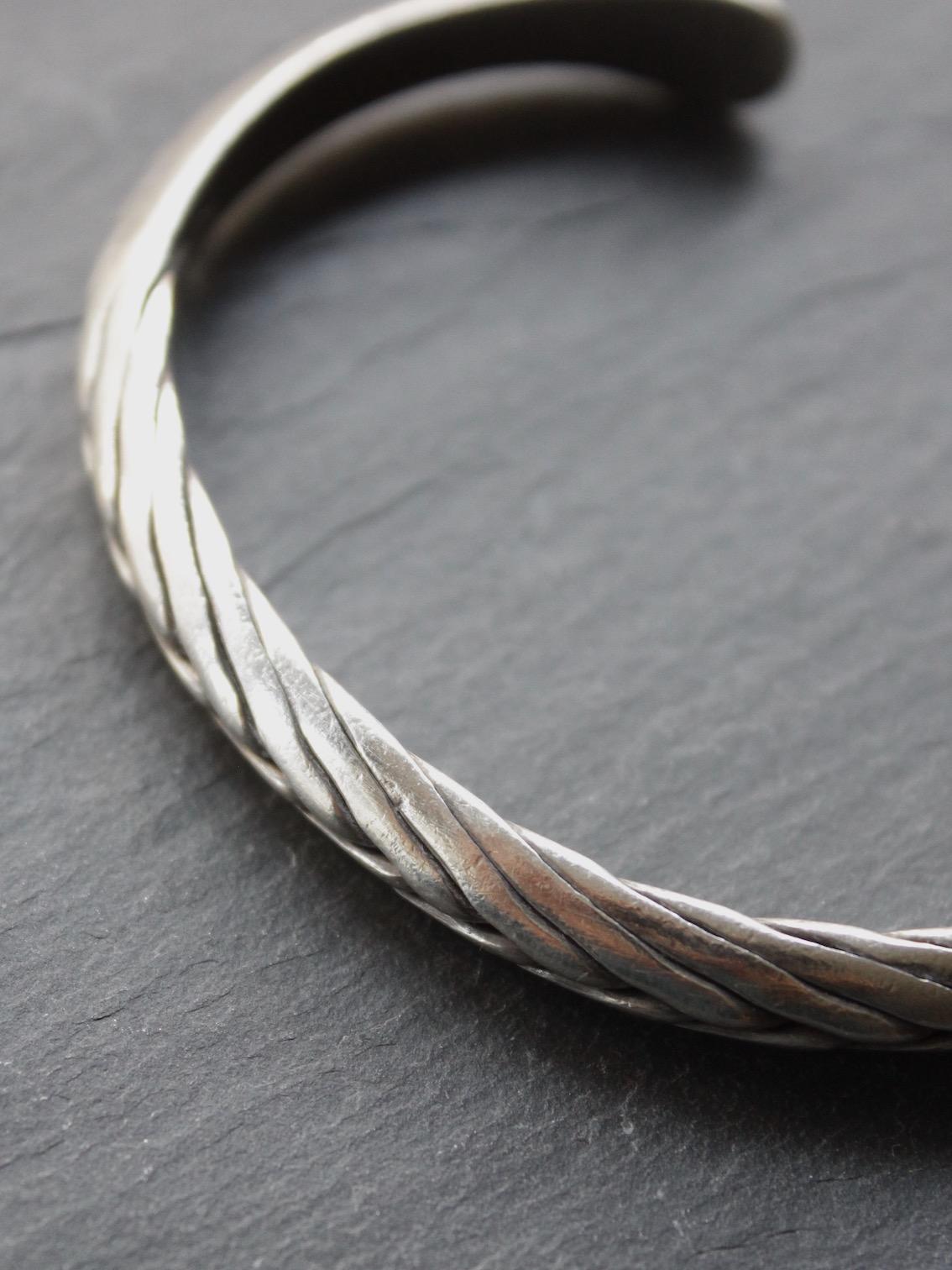 "karen silver accessory ""bangle 18.5-"" b-1"