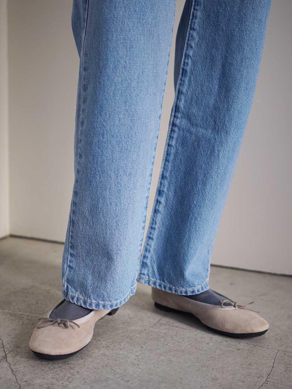 "KLOKE / EVADE STRAIGHT LEG JEAN ""LIGHT BLUE"""