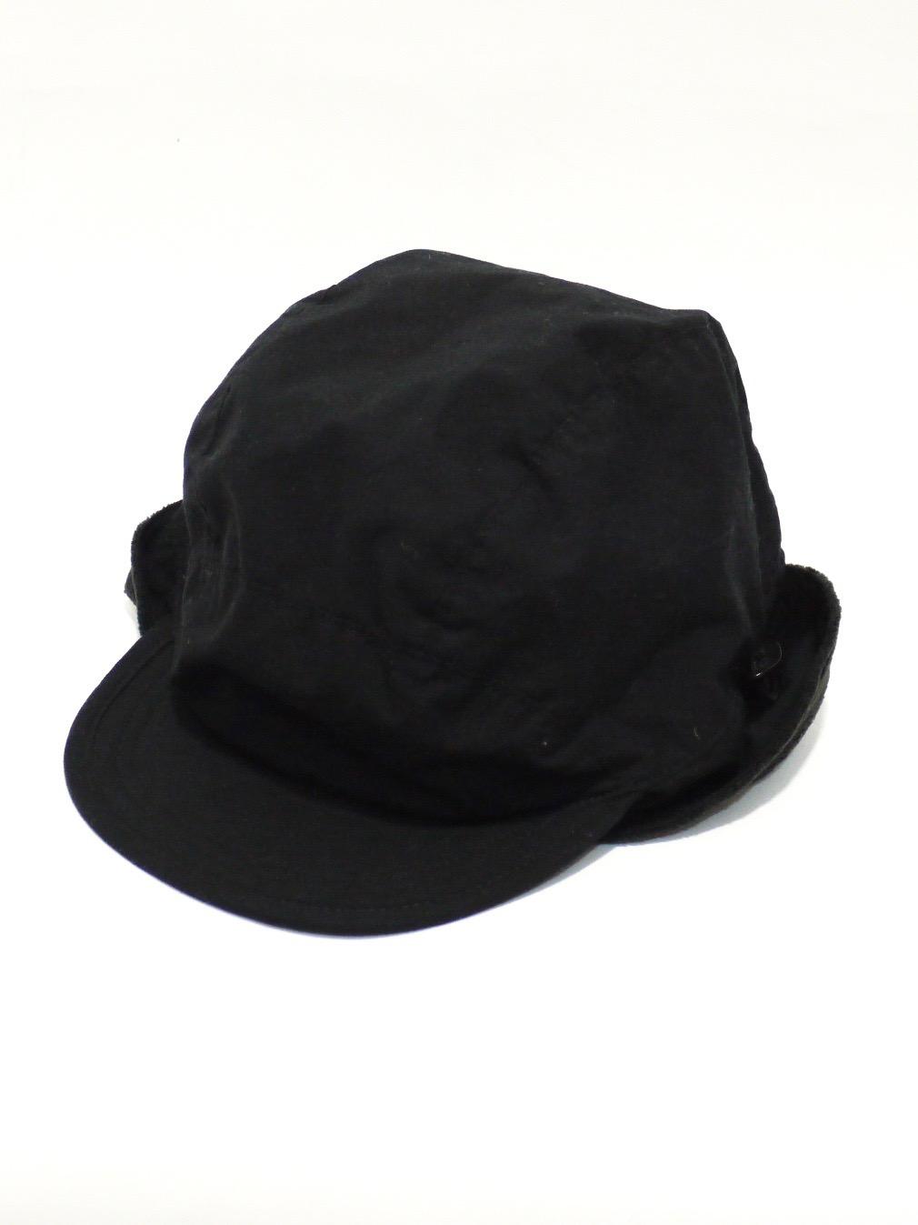 KIJIMA TAKAYUKI / ダックビルキャップ (NO,182935) ブラック