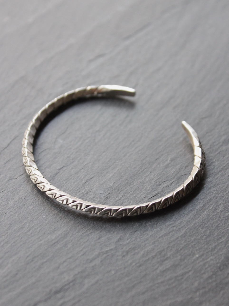 "karen silver accessory ""bangle 18"" b-4"
