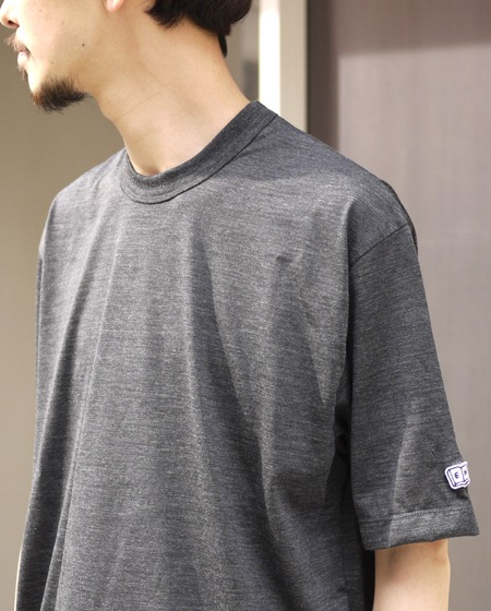 "ENDS and MEANS / M/W  Tee ""CHARCOAL"""