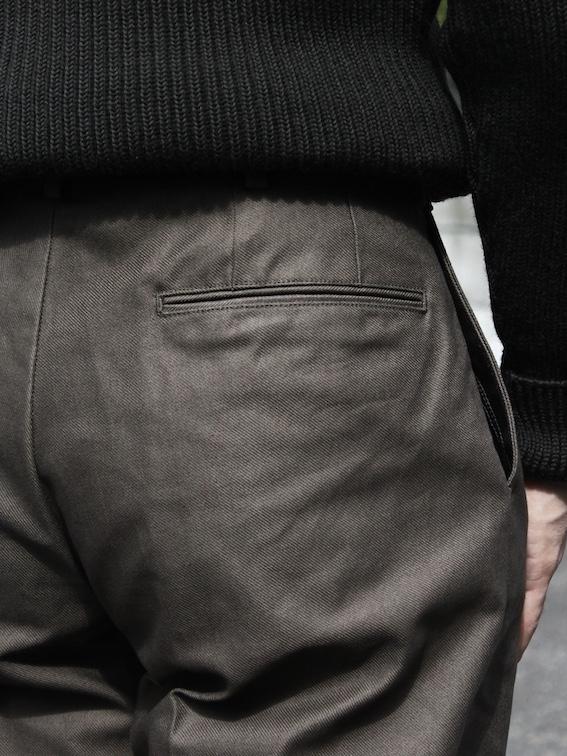 Riprap / Two Tuck Slacks   BEDROCK