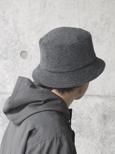 KIJIMA TAKAYUKI / Bucket hat (no.202815) CHARCOAL
