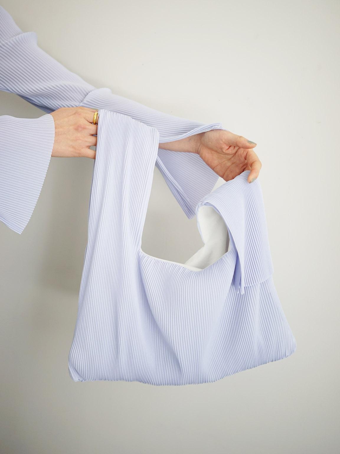 "Jens / SHOPPING BAG ""BLUE"""