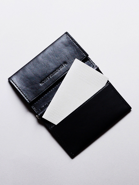 "ED ROBERT JUDSON / CARD CASE   ""black"""