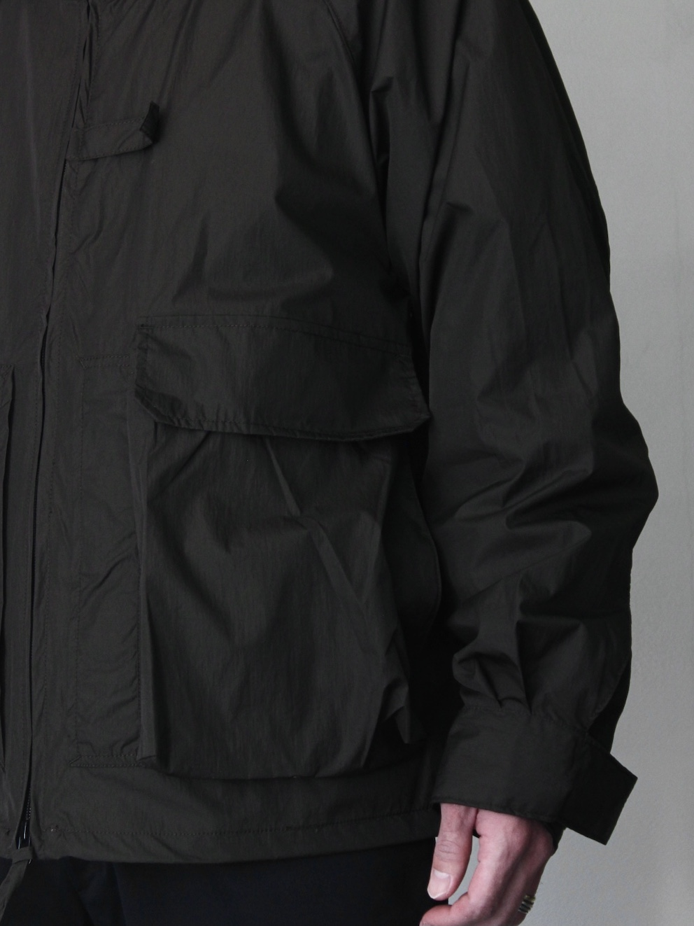 "ENDS and MEANS / Fishing Jacket ""Black"""
