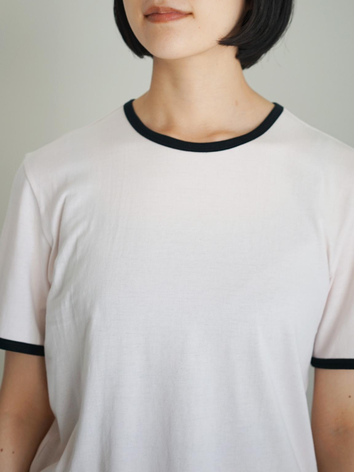 """THE HINOKI / リンガー Tシャツ  """"PINK×BLACK"""""""
