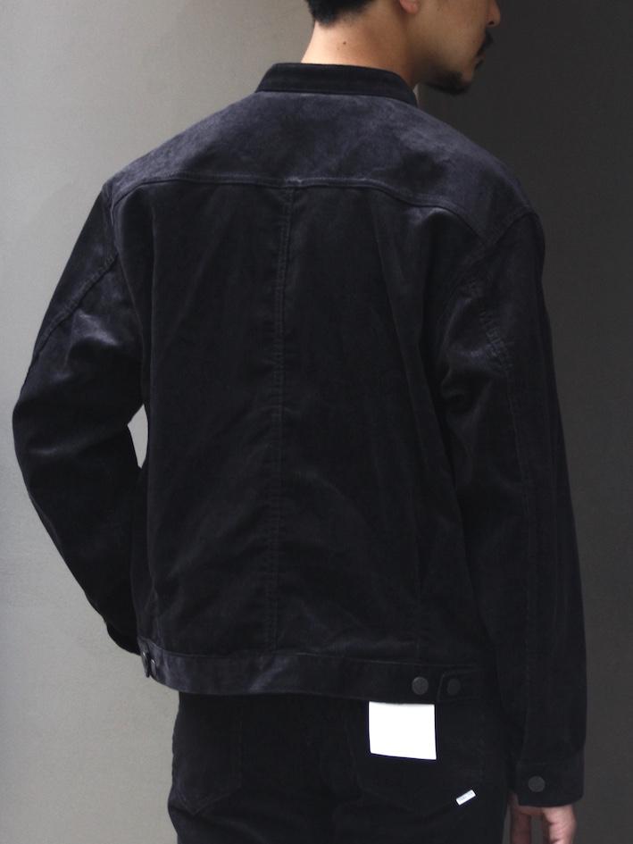 STABILIZER GNZ / Corduroy Stand Collar Jacket 8-22C
