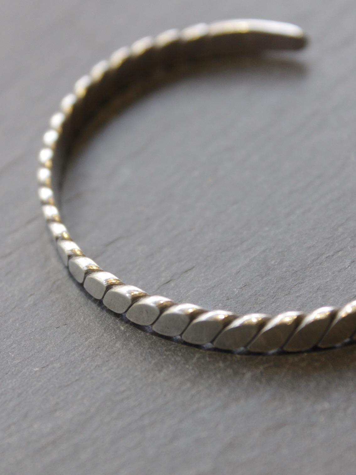 "karen silver accessory ""bangle17.5"" b-12"