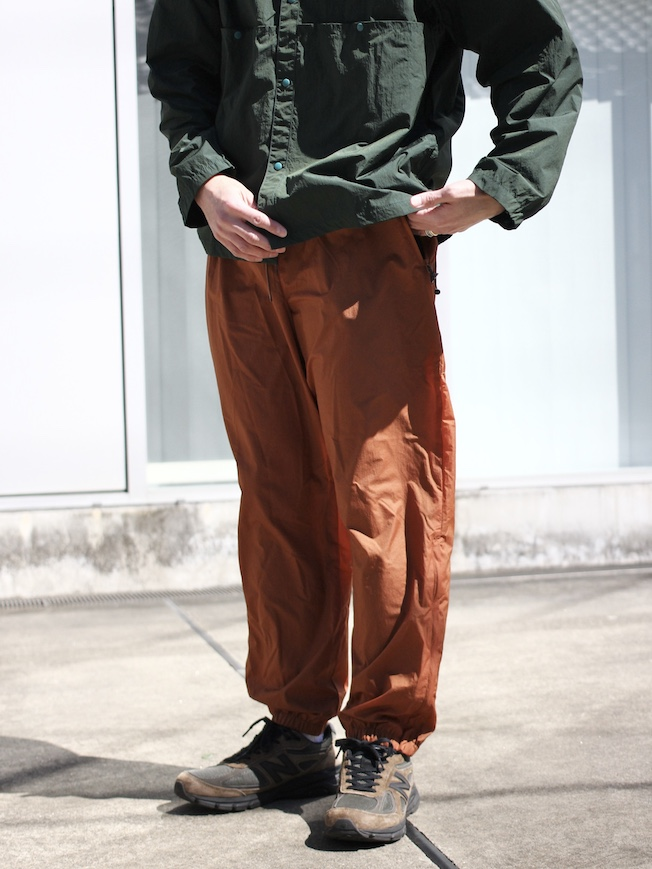 "ENDS and MEANS / TACTICAL TROUSERS ""blick brown"""
