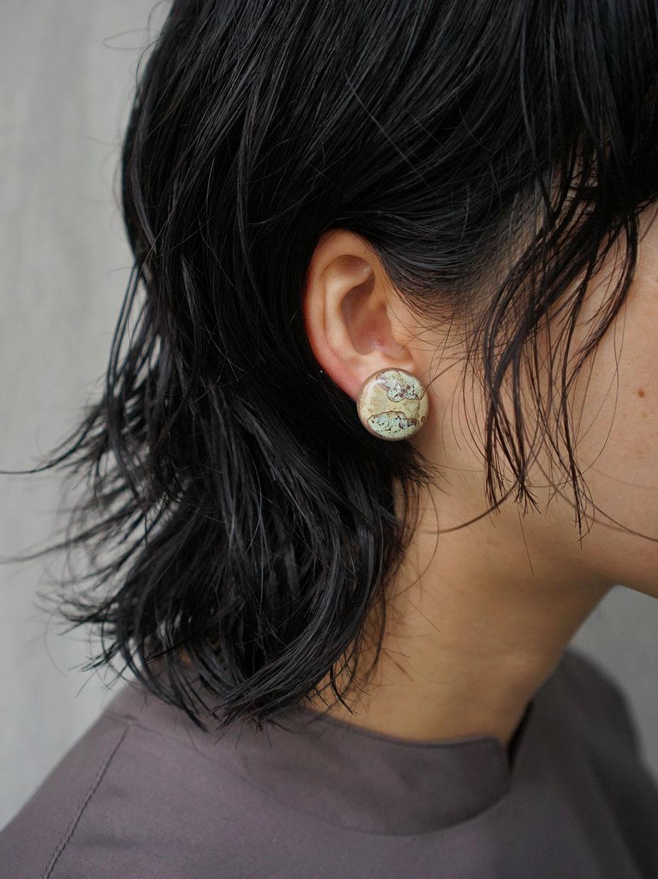 SŌK- / circle earring �