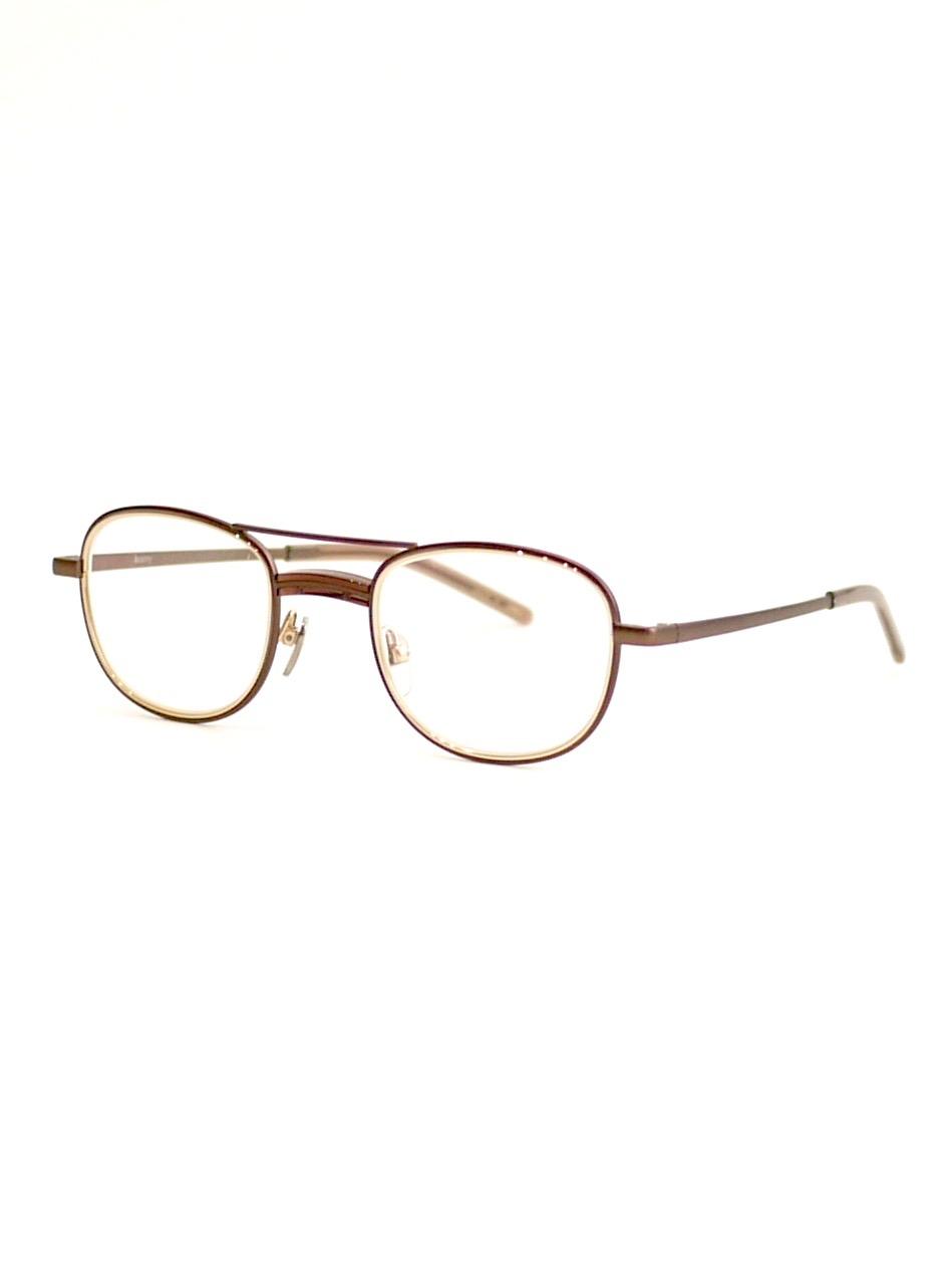 "kearny / james ""clear brown""  (clear lens)"