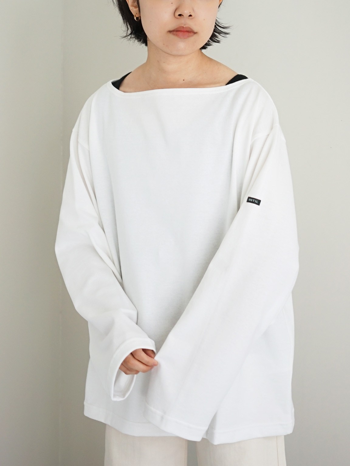 """OUTIL / TRICOT AAST """"WHITE"""""""