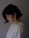 SŌK / pray dangle - BONE  (pierce & earring)