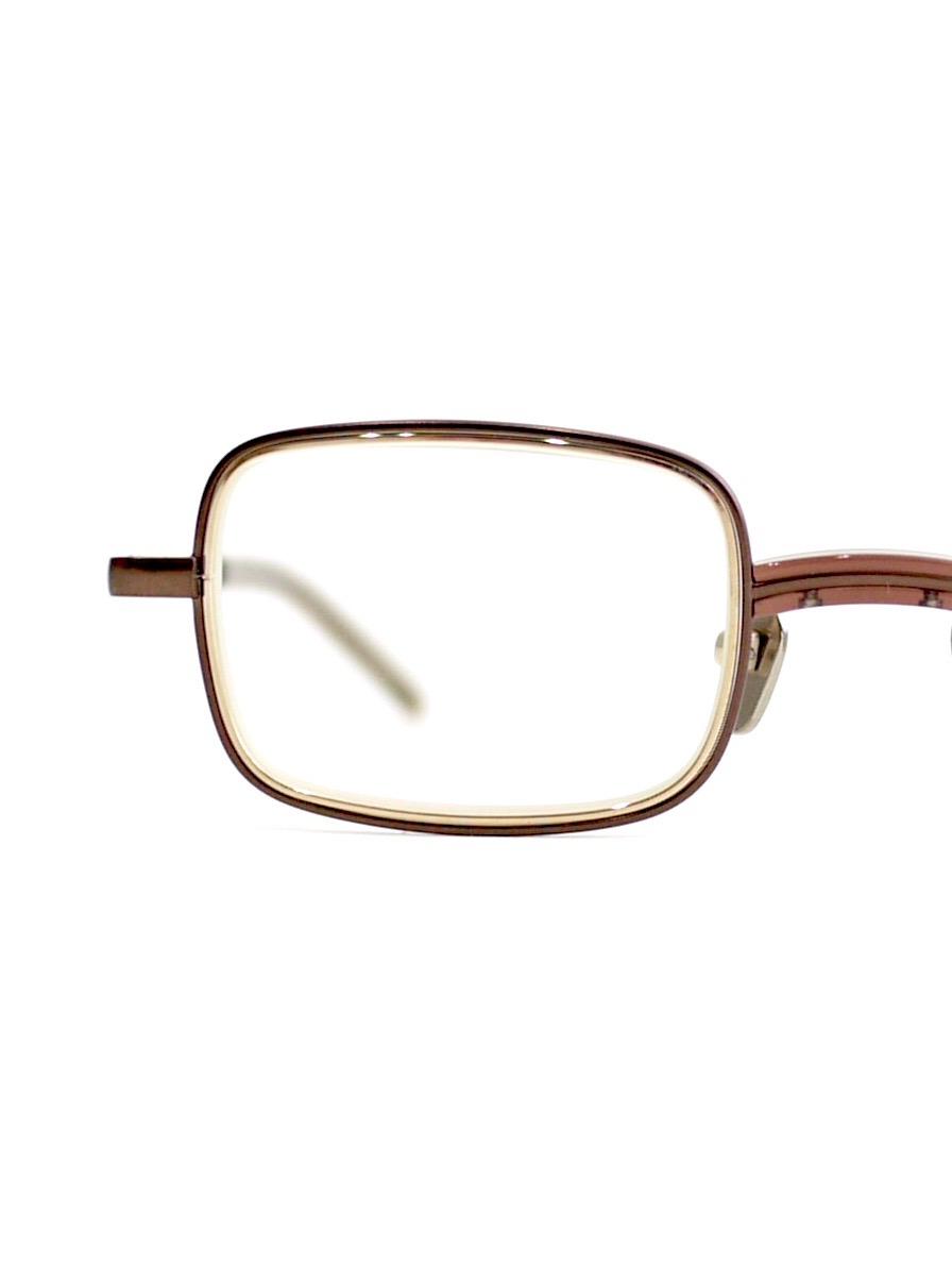 """kearny / bill """"clear brown""""  (clear lens)"""