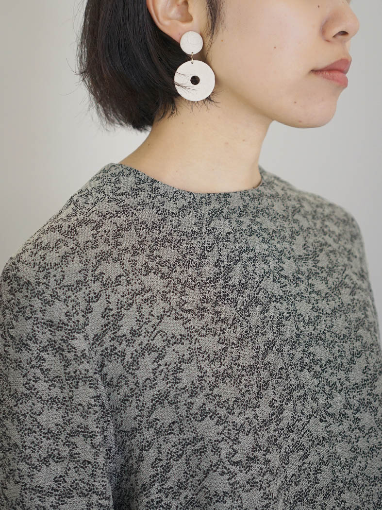 【受注生産】Toss! / Nostalgic blouse (21aw005)