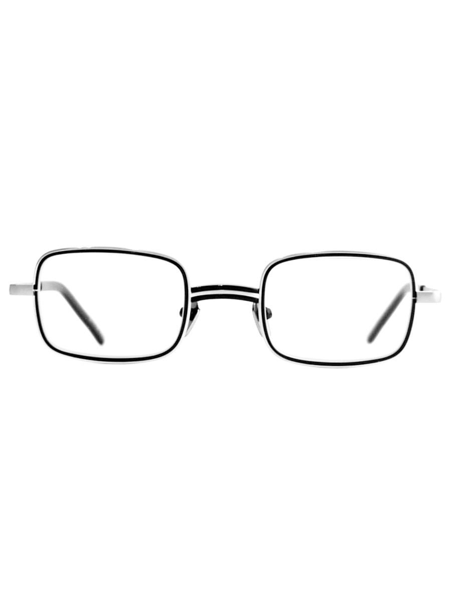 """kearny / bill """"black""""  (clear lens)"""